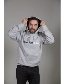 Sweat-shirt homme Dinafem noir