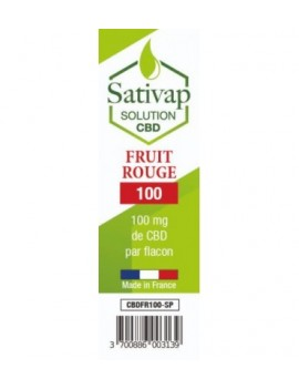 SATIVAP CBD FRUIT ROUGE